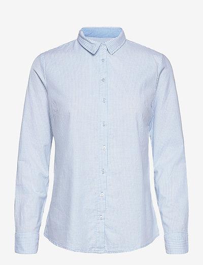 FRZAOXFORD 1 Shirt - langærmede skjorter - blue chambré stripes