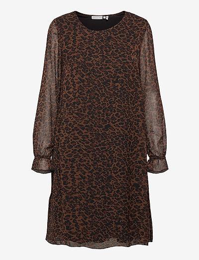 FRMALEO 1 Dress - korte kjoler - chocolate fondant mix