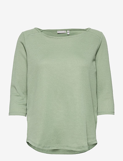 FRPEJACQ 1 T-shirt - langærmede toppe - lily pad