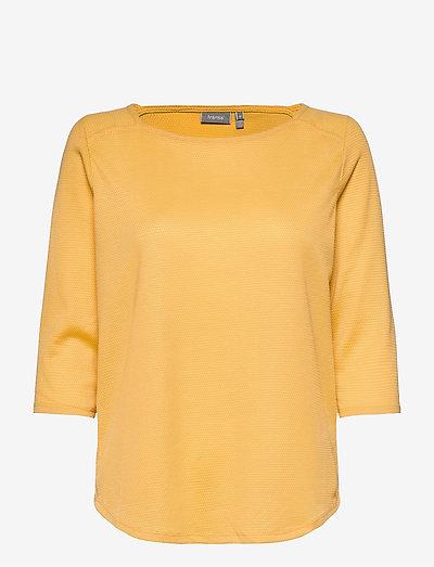 FRPEJACQ 1 T-shirt - langærmede toppe - ochre