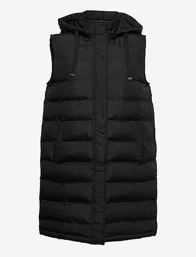 FRBAFAB 1 Waistcoat - vatteret veste - black