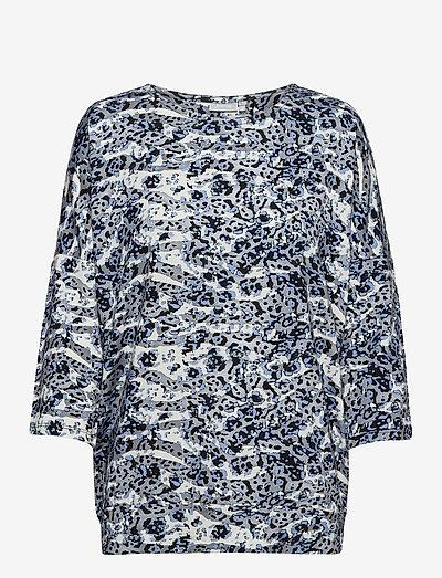 FRPETRIBE 2 T-shirt - langærmede toppe - blue animal mix