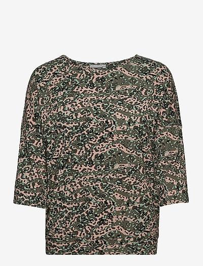 FRPETRIBE 2 T-shirt - langærmede toppe - green animal mix