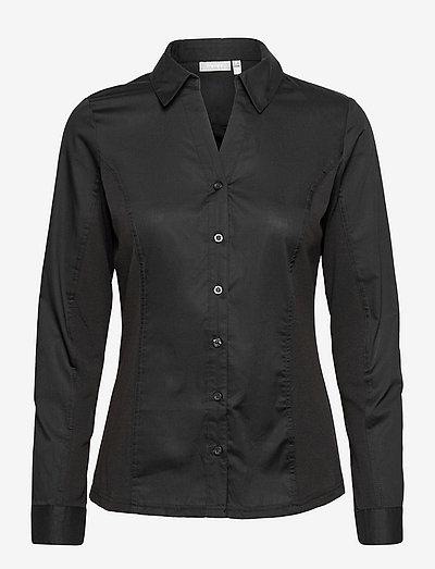 FRPASTIN 1 Shirt - langærmede skjorter - black