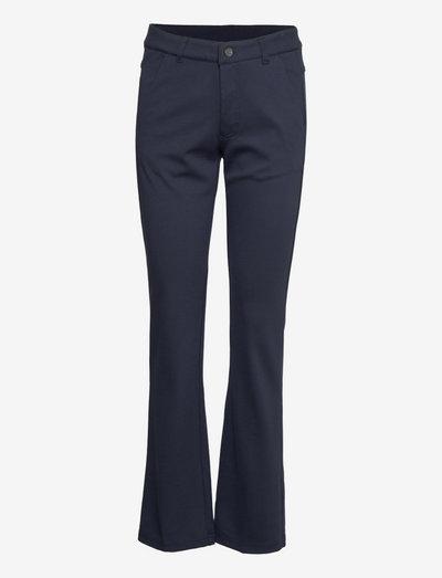 FRVEBUX Pants - dark peacoat