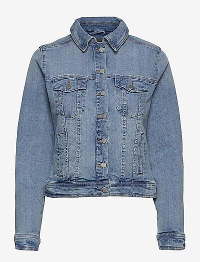 FRVOCUT 1 Jacket - denimjakker - clear blue denim