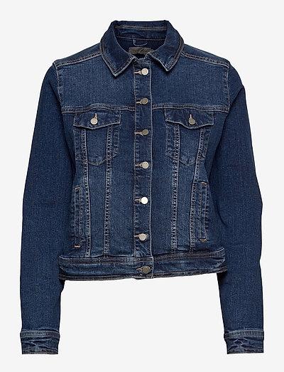 FRVOCUT 1 Jacket - denimjakker - glossy blue denim