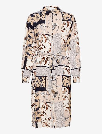 FRVACRINKLE Dress - skjortekjoler - navy blazer mix
