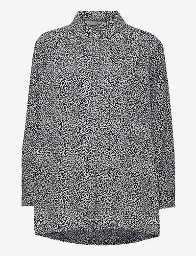 FRVARILLI 3 Shirt - denimskjorter - navy blazer mix