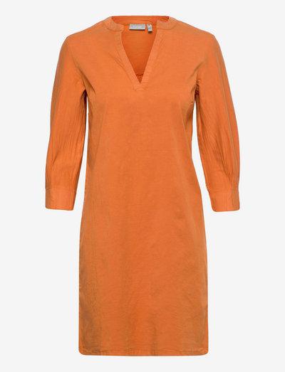 FRVOCRISP Dress - autumn maple