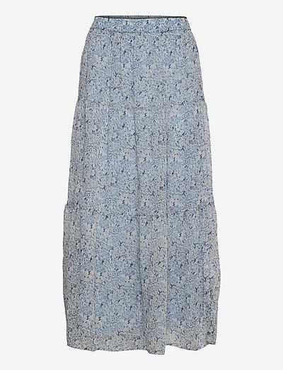 FRALCHIFLOW 3 Skirt - midi nederdele - cashmere blue mix