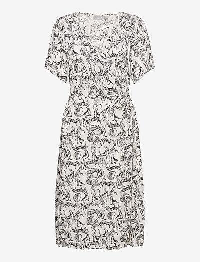 FRALCRINKLE 2 Dress - sommerkjoler - birch mix