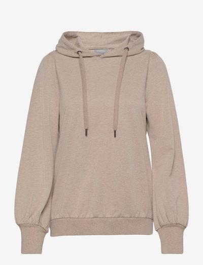 FRBESWEAT 1 Sweatshirt - hættetrøjer - beige melange