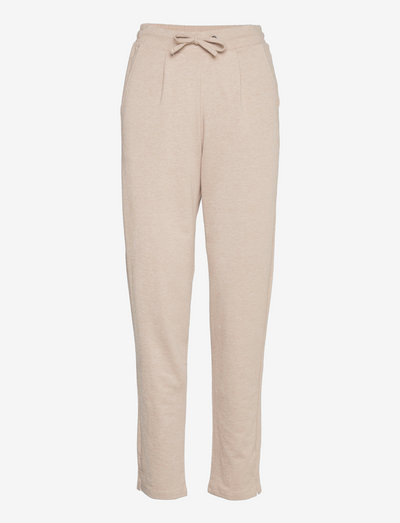 FRBESWEAT 3 Pants - casual bukser - beige melange