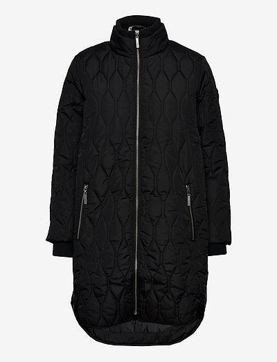 FRBAQUILT 1 Outerwear - quiltede jakker - black