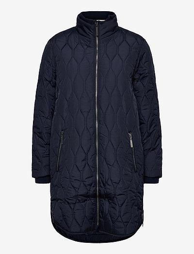 FRBAQUILT 1 Outerwear - quiltede jakker - dark peacoat