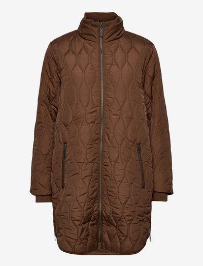 FRBAQUILT 1 Outerwear - quiltede jakker - gold brown
