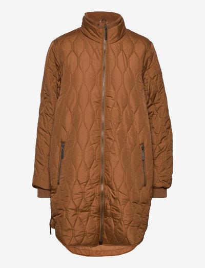 FRBAQUILT 1 Outerwear - quiltede jakker - tobacco brown