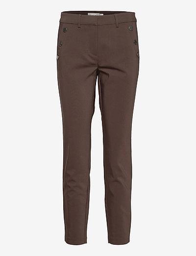 FRZATOWN 5 Pants - slim fit bukser - coffee bean
