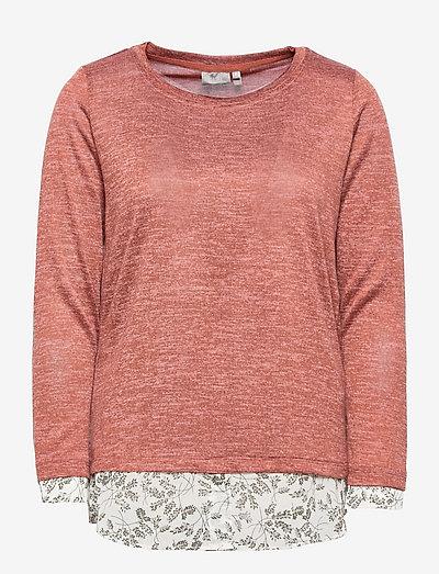 FRBEREXAN 1 Pullover - trøjer - cedar wood melange