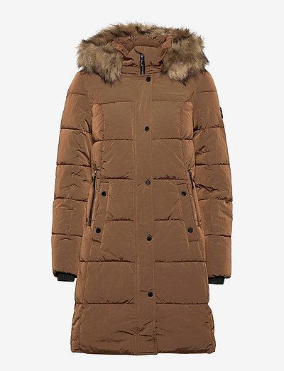 FRBABAC 1 Outerwear - vinterfrakker - gold brown