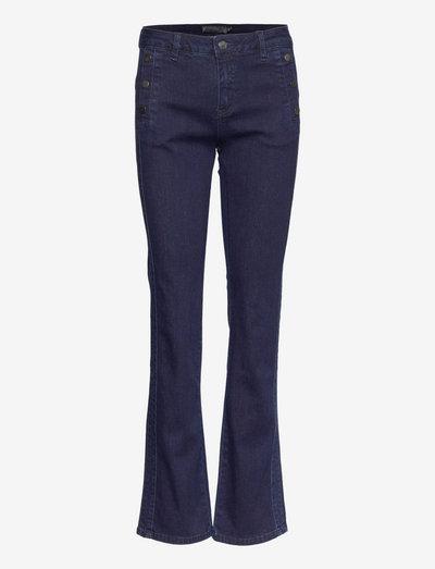 FRCOWATER 2 Jeans - flared jeans - deep indigo blue denim