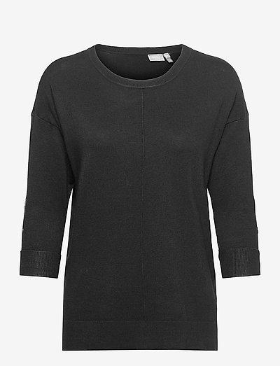 FRBESMOCK 2 Pullover - - strikkede toppe - black