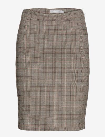 FRCATERN 2 Skirt - korte nederdele - golden brown mix