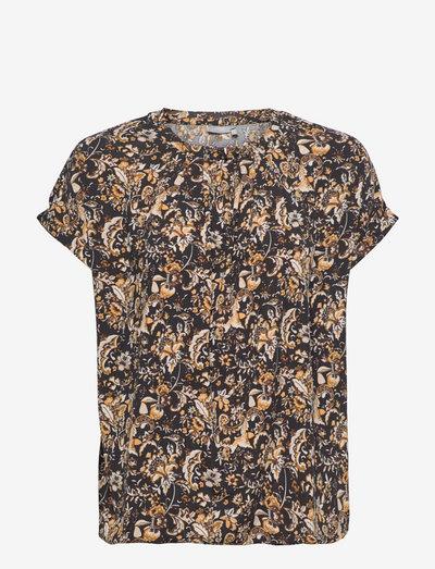 FRCESEEN 2 T-shirt - kortærmede bluser - black flower mix