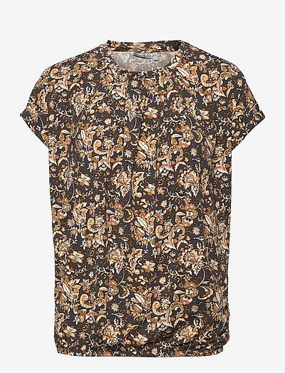 FRCESEEN 2 T-shirt - kortærmede bluser - green flower mix