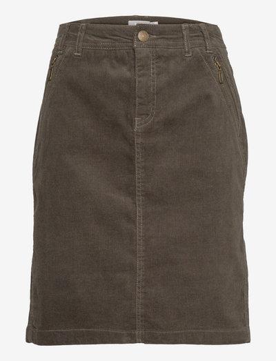 FRCACORD 2 Skirt - korte nederdele - green ink