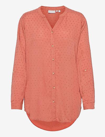 FR BAJOY Shirt - langærmede skjorter - cedar wood