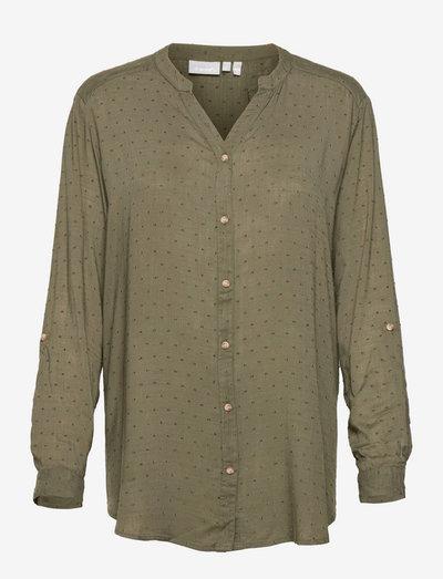 FR BAJOY Shirt - langærmede skjorter - hedge