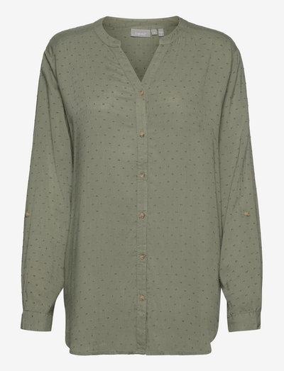 FR BAJOY Shirt - langærmede skjorter - seagrass
