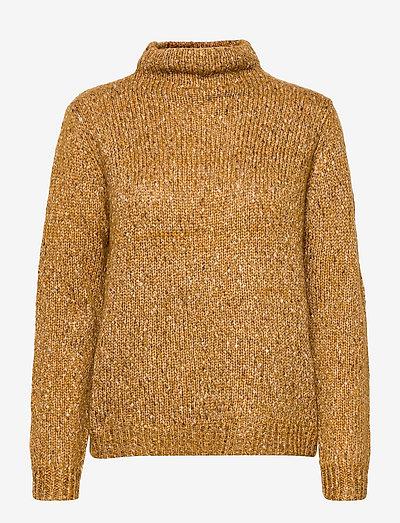 FRCESPOT 3 Pullover - rullekraver - golden brown mix