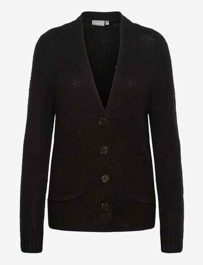 FRCEDARKI 4 Cardigan - cardigans - black