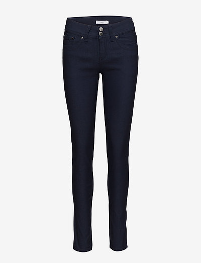 Zalin 1 Pant - bukser med smalle ben - dark peacoat
