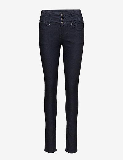 Zalin 2 Pant - bukser med smalle ben - dark peacoat