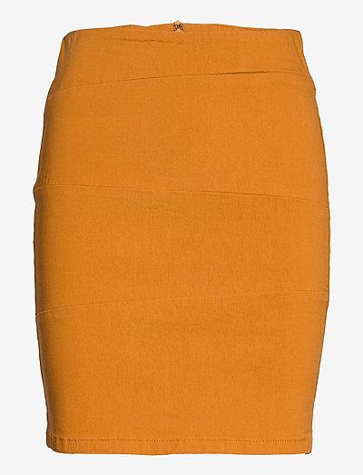 Zalin 3 Skirt - korte nederdele - inca gold