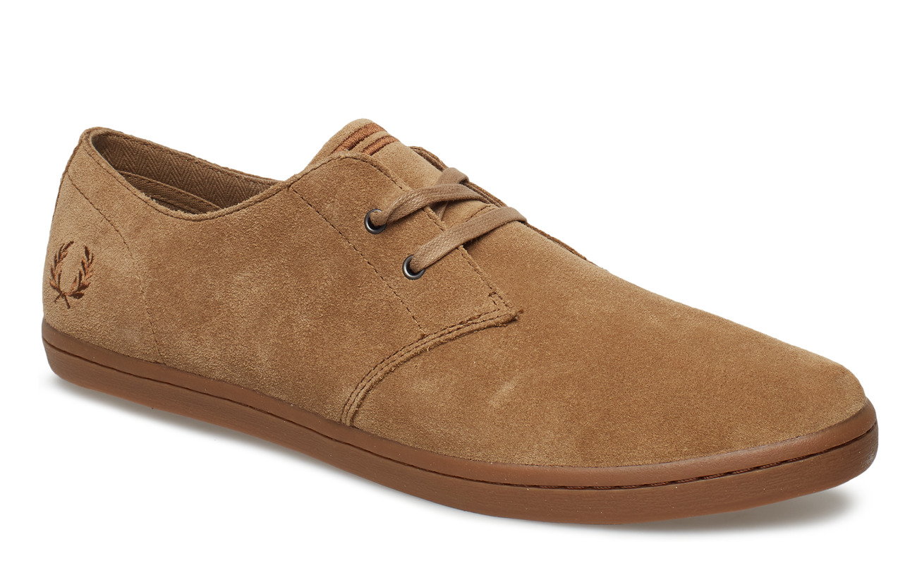 Fred Perry BYRON LOW SUEDE - ALMOND
