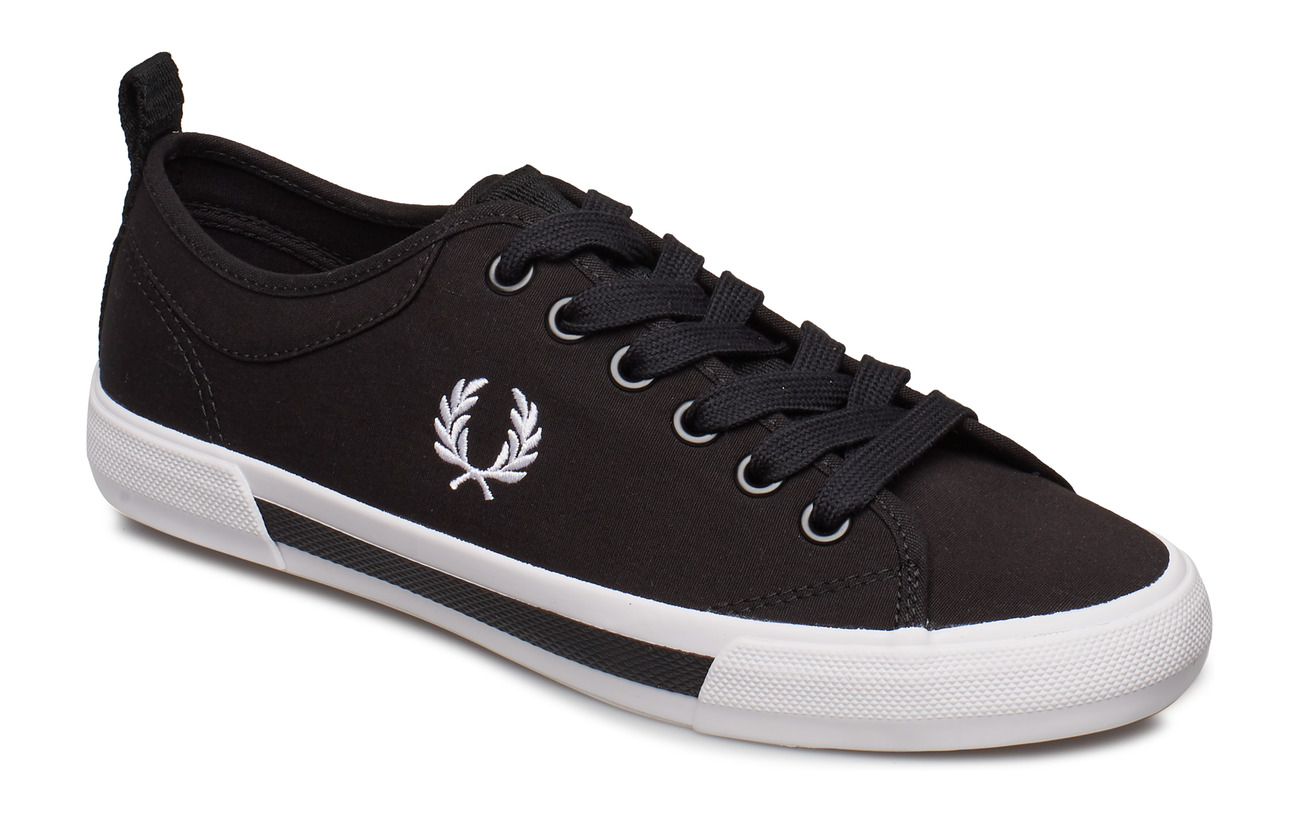 Fred Perry HORTON CANVAS - BLACK/WHITE