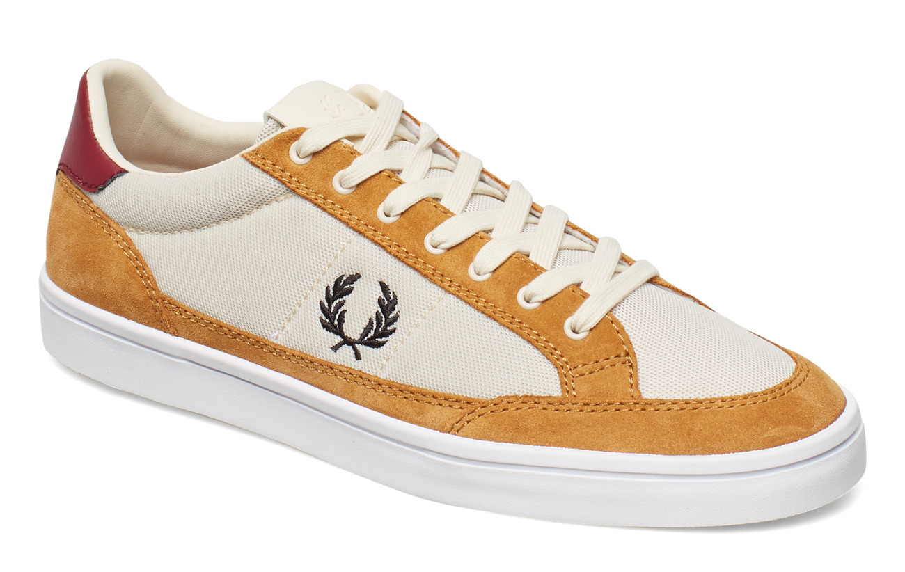 Fred Perry DEUCE MESH/SUEDE - TAPIOCA