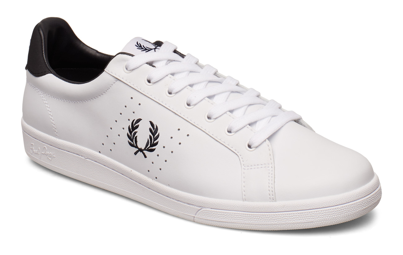 Fred Perry Skor B721 Leather Black