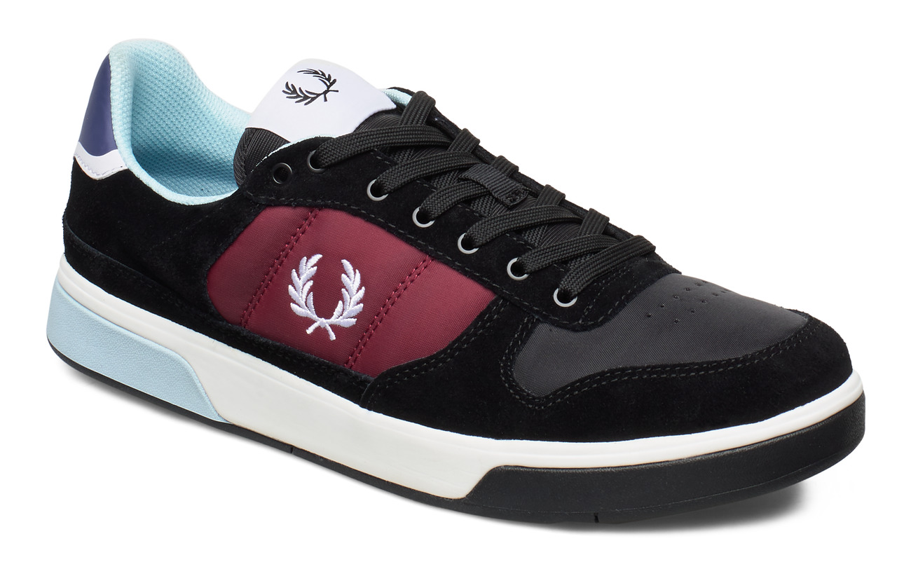 Fred Perry B300 SUEDE/POLY - BLACK