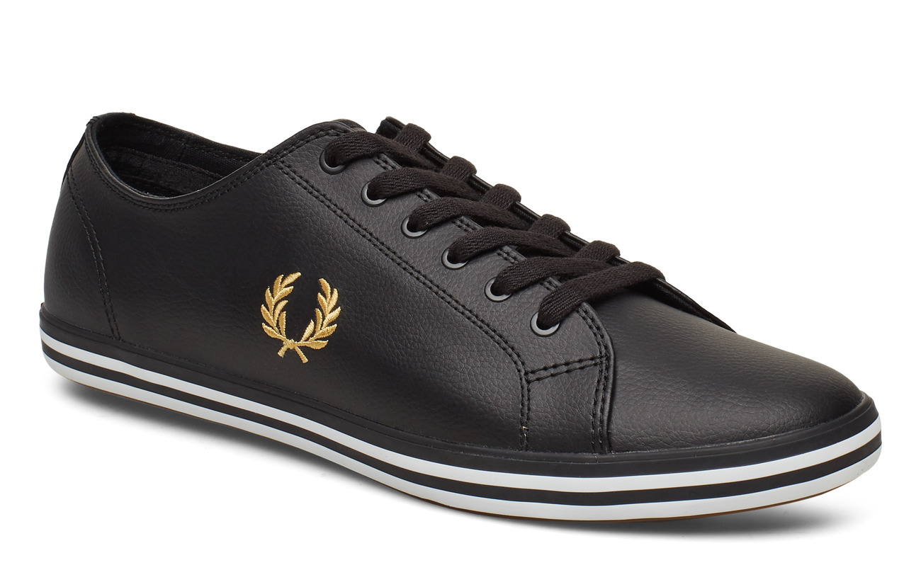 Fred Perry KINGSTON LEATHER - BLACK