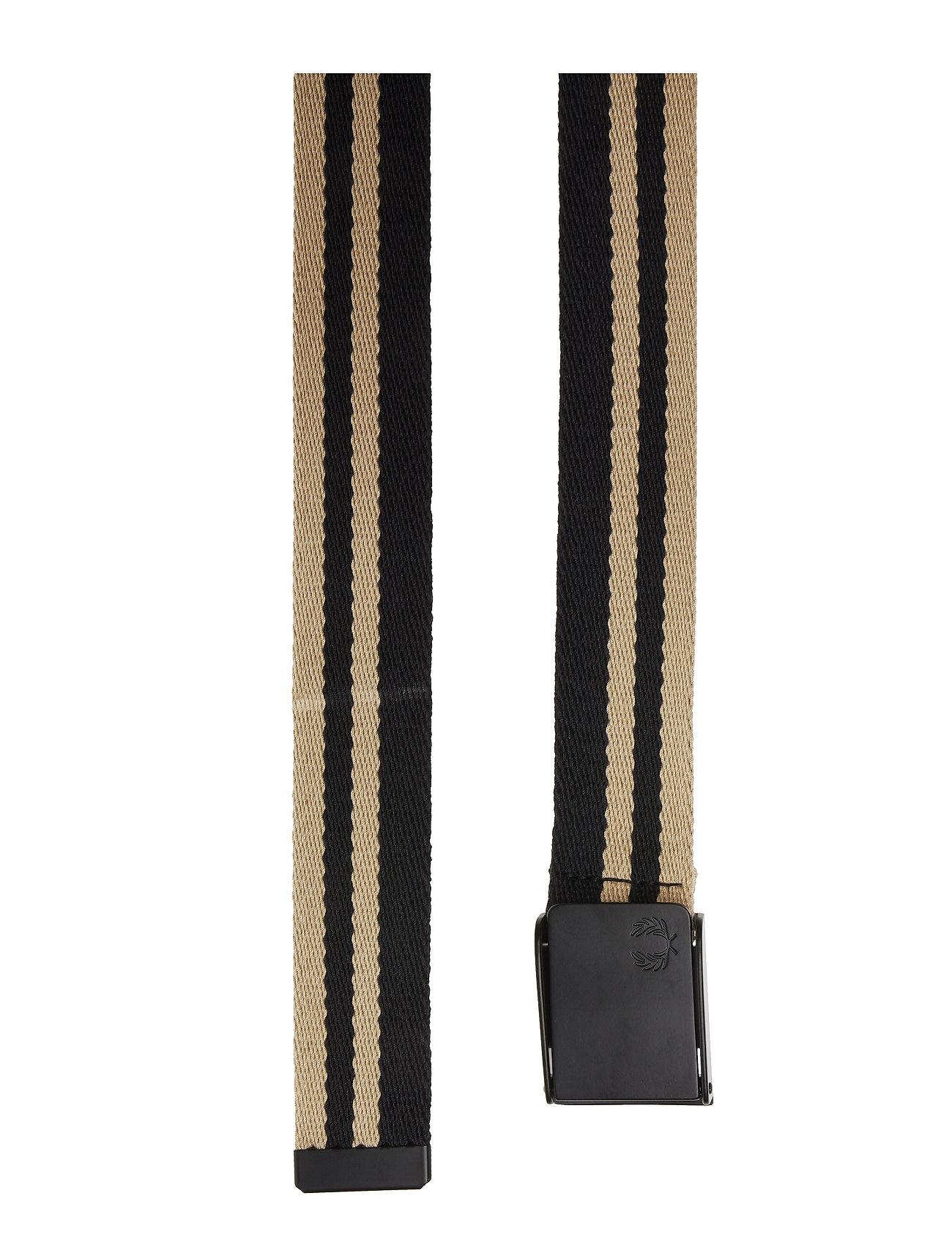 Webbing Belt Accessories Belts Braided Belt Sort Fred Perry