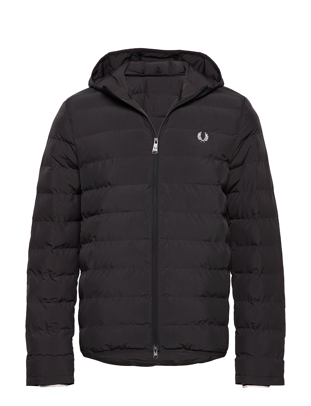 Fred Perry Hooded Jacket - BLACK