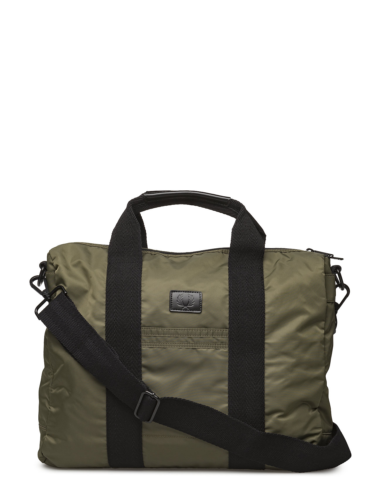 Fred Perry NYLON WORK BAG - OLIVE