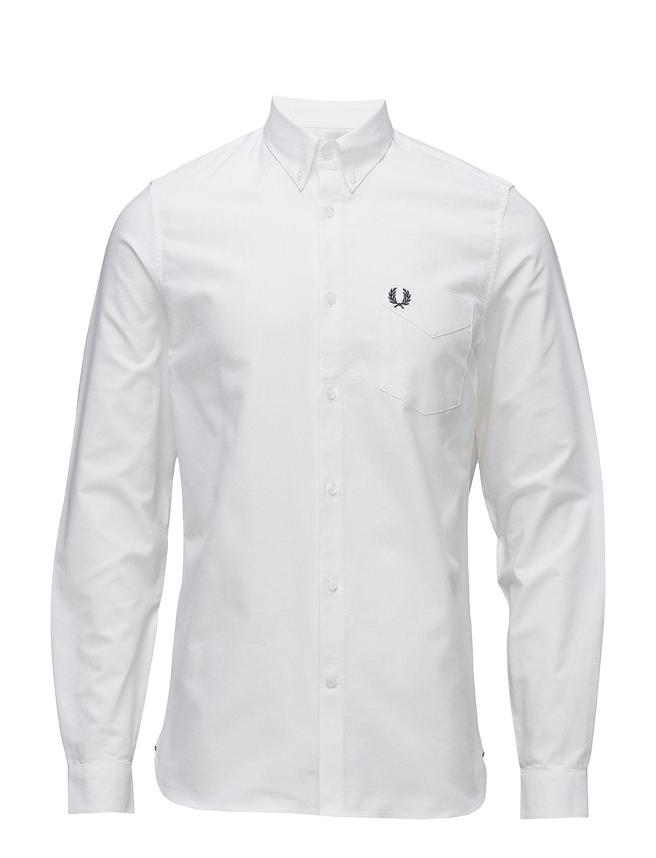 Fred Perry Oxford Skjorte White