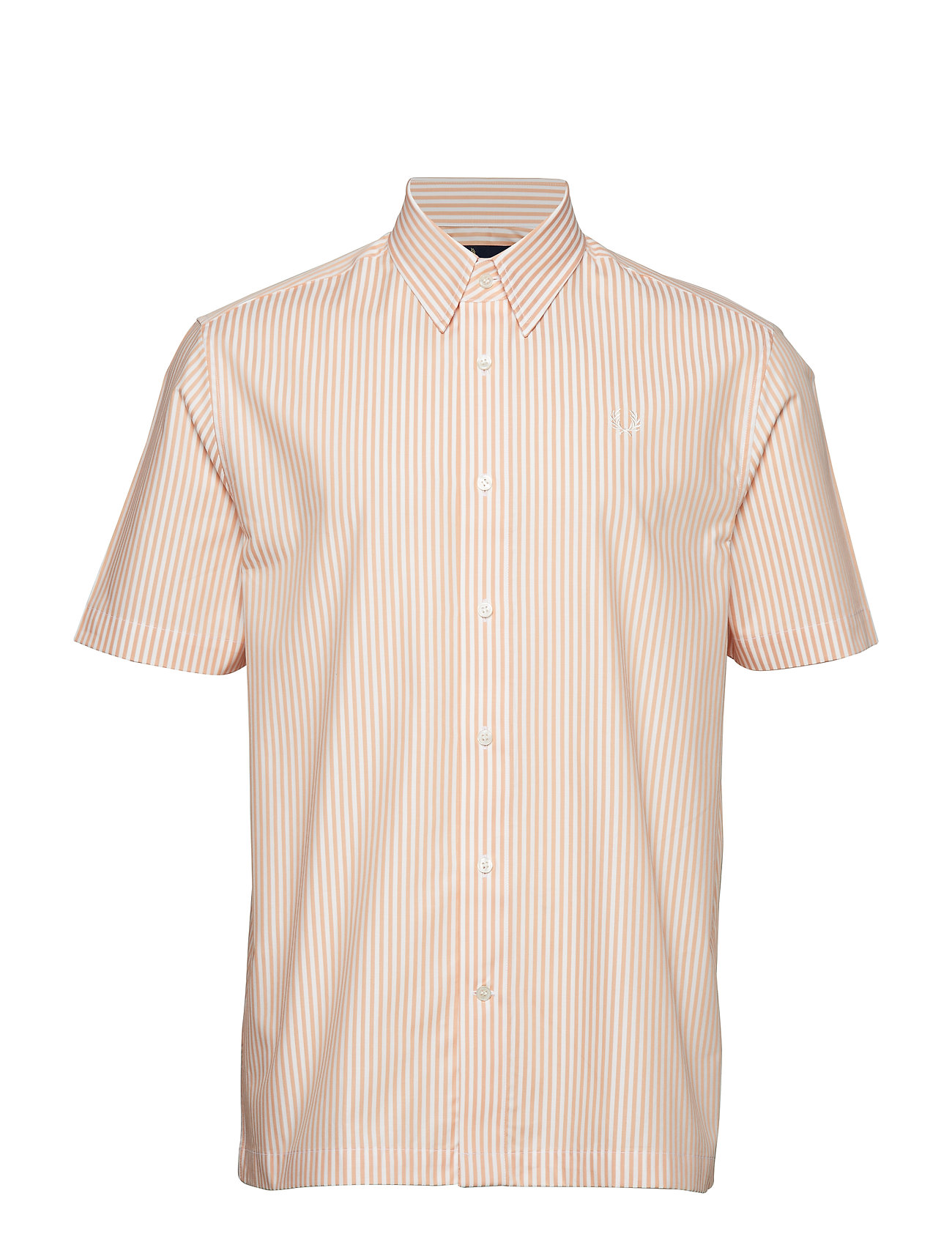 Fred Perry VERTICAL SHIRT - APRICOT